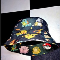 SWEET LORD O'MIGHTY! POKEMON BUCKET HAT