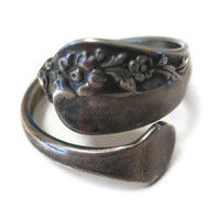 Oneida Community Vintage Spoon Ring