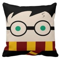 Have a Magical Sleep! Handmade Harry Potter Pillow.