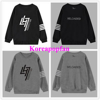 EXO EXOM LUHAN LU HAN RELOADED KPOP SWEATSHIRT JUMPER COTTON NEW