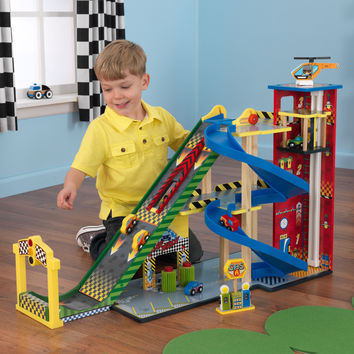 KidKraft Mega Ramp Racing Set - 63267
