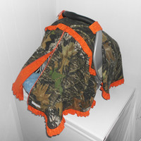 MOSSY OAK CAMO and Orange w/ Ruffles by CrystalsCreations22