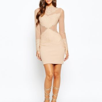 Love Triangle Sneak A Peek Lace Dress