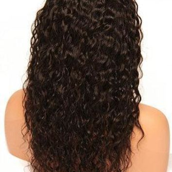 Raw Indian Exotic Curly Full Lace Wig