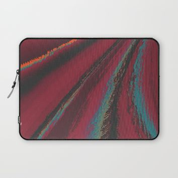 Cozy Sweater - glitch- Laptop Sleeve by DuckyB