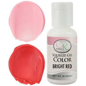 Bright Red CK Gel Paste Food Coloring