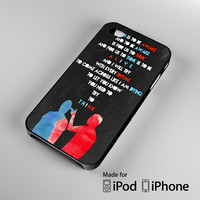Twenty One Pilots lyric A0795 iPhone 4 4S 5 5S 5C 6, iPod Touch 4 5 Cases