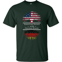 American Grown With German Roots Great Shirt Germany - Ultracotton T-shirt
