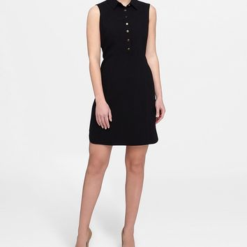Tahari ASL Crepe Shirt Dress | Dillards