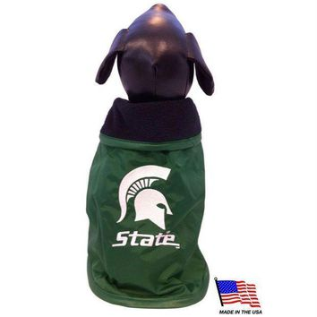 MDIGONI Michigan State Weather-Resistant Blanket Pet Coat