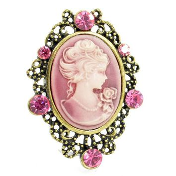 Fashion Antique Cameo Ring