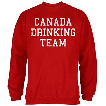 Canada Drinking Team Mens Sweatshirt