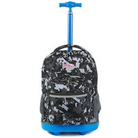 Boys Backpack Bag School Bags For Girls Teenagers Camouflage  On Wheel Big Capacity Children Travel Suitcase School  19 Inch AT_61_4