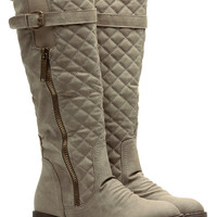 Young and Reckless Quilted Sand Rider Boots