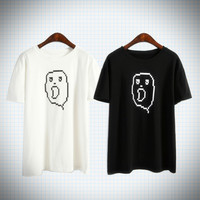 Pixel ghost tee from Ice Cream Cake