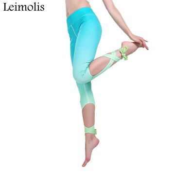 Light Wings Pastel Gothic Bowknot Ribbons Leggings