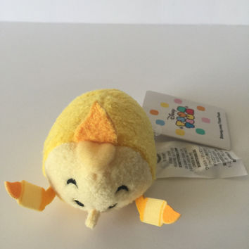 """Disney Usa Beauty and the Beast Mini Lumiere 3 1/2"""" Tsum Plush New with Tags"""