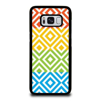 SQUARE PATTERN Samsung Galaxy S8 Case Cover