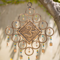 Cosmic Om Windchime