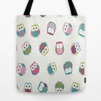 Little Owls Tote Bag by  Alexia Miles photography