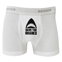 Save The Sharks Boxer Briefs