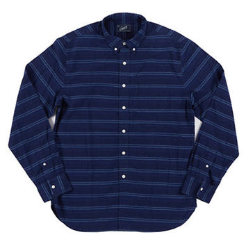 Grayers Horizontal Stripe Sport Shirt