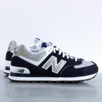 New Balance 574 - Navy/Grey
