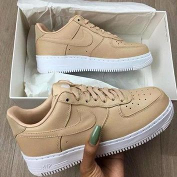 Fashion Online Nike Air Force 1 Low Af1 Fashion Ventilation Sport Running Sneakers Sport Shoes