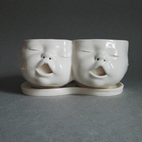 Two Headed Baby Planter