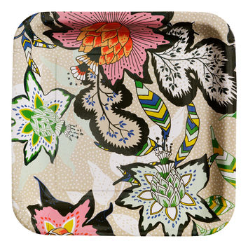 H&M - 10-pack Paper Plates - Floral