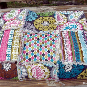 Ready To Ship Large Throw Lap Rag Quilt Cozy Modern Patchwork Home Decor Bedding