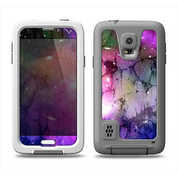 The Warped Neon Color-Splosion Samsung Galaxy S5 LifeProof Fre Case Skin Set