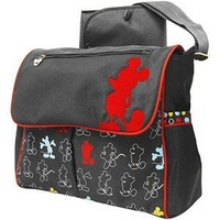 Disney - Mickey Mouse in the House Compact Messenger Diaper Bag