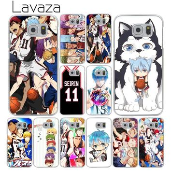 Lavaza Kuroko no Basket kawaii Tetsuya Hard Transparent Phone Case for Samsung Galaxy S8 S9 Plus S3 S4 S5 S6 S7 Edge Cover Case
