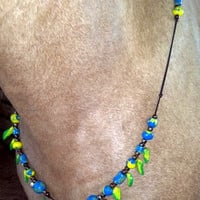 Gypsy Maiden Clay Equine Necklace -- Rhythm Beads -- Necklace for Horses