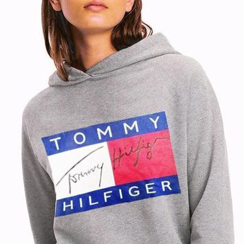 Tommy Hilfiger Women Men Hot Hoodie Cute Sweater