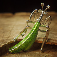 Grasshopper Brooch #5050