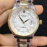 Rolex Trending Unisex Elegant Business Movement Watch Watch Wrist Silver Gold I-YF-GZYFBY