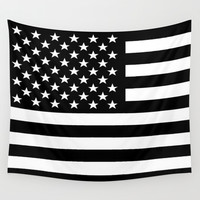 Flag Wall Tapestry by Stephanie Janeczek