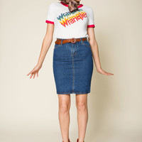 Wrangler Dependable Denim Skirt