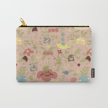 You got bugs! Also avalible as a pattern Carry-All Pouch by Krusidull Illustrations