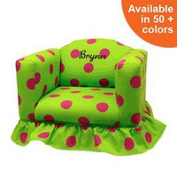 Kids Chair with Ruffled Skirt
