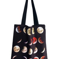 Blood Moon Phase Tote