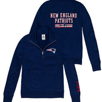 New England Patriots Track Jacket - PINK - Victoria's Secret