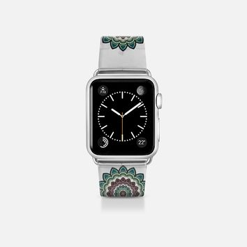Mandala purple and teal Apple Watch Band (38mm)  by VanessaGF   Casetify