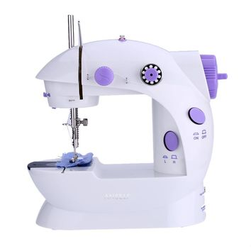 Desktop Sewing Machine Mini Electric Portable Hand Held Double Speed + Light