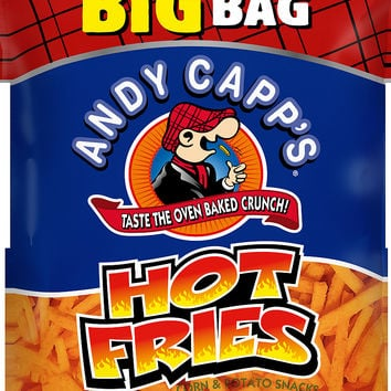 Andy Capp's Hot Fries Corn & Potato Snacks, 8 oz - Walmart.com