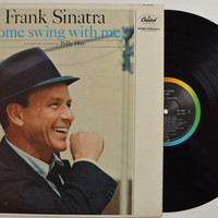 "FRANK SINATRA - ""Come Swing With Me"" vinyl record"
