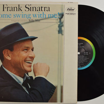 """FRANK SINATRA - """"Come Swing With Me"""" vinyl record"""