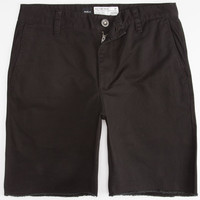 Rvca All Time Mens Chino Shorts Black  In Sizes